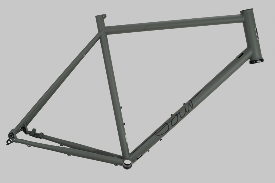 Purple Haze Rahmen XL RAL 7009 Matt
